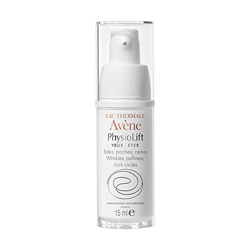 Eau Thermale Avene PhysioLift EYES, Retinaldehyde to Reduce Appearance of Puffiness, Dark Circles, Wrinkles, 0.5 oz.