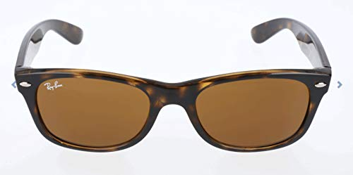 Ray-Ban New Wayfarer Classic, Light Tortoise Frame/Brown Lens (Ray Pieces Ban Sunglasses)