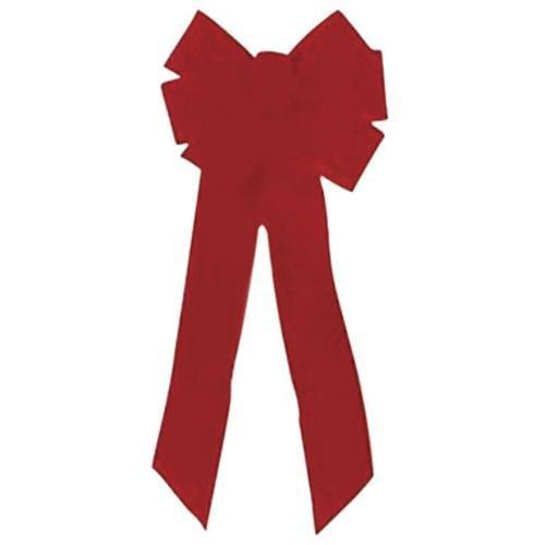 Holiday Trim Velvet Bow 10''