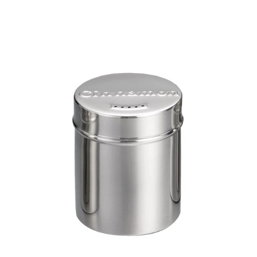 6 Ounce Stainless Steel Cinnamon Shaker (15-0245) Category: Spice Shakers