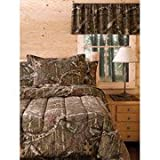 Mossy Oak Infinity reversible Bedding Comforter and shams Set QUEEN