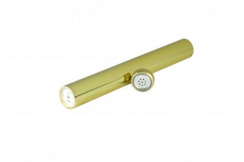 Adorini Humidor Tube Incl. Hygrometer Golden