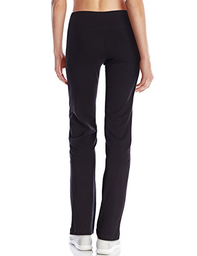 Jockey Women's Slim Bootleg Pant, Deep Black, 3X