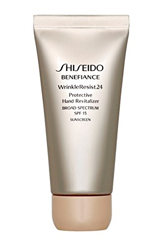 Shiseido Benefiance Wrinkle Resist Protective Hand Revitalizer SPF 15, 2.6 Ounce
