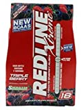 VPX Redline Xtreme RTD Energy Drink Triple Berry -- 4 Bottles