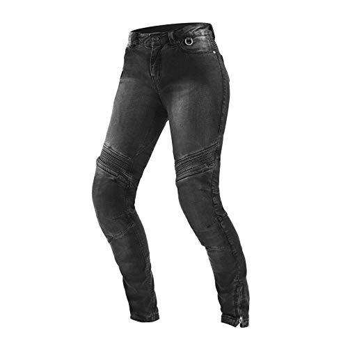SHIMA JESS BLACK, Modern Jeans mit Protector Classic Slim Duralid Motorradhose für Frauen