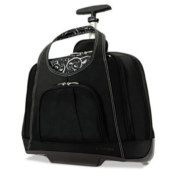 Contour Balance Netbook Case,18w x 9d x 13-1/2h, Black by ACCO Brands