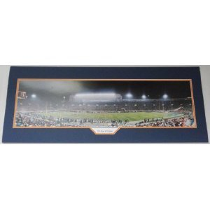 Memorabilia Lane BEARSPANORAMIC1 Bears 21 Yard Line Slight Tear Football Panoramic Photo