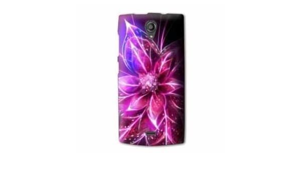 Amazon.com: Case Carcasa Orange Nura2 / Nura 2 fleurs ...