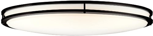 Kichler 10879OZ Verve Oval Ceiling 2-Light Fluorescent, Olde -