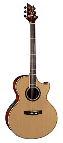 Cort 6 String Acoustic-Electric Guitar, Right Handed (NDX BARITONE NS) (Cort Electric Acoustic)