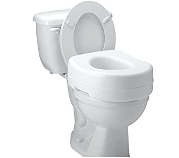2 inch toilet seat. Raised Toilet Seat Carex Economy 5 1 2 Inch White 300 lbs  Amazon com