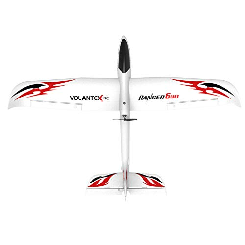BLACKOBE RC Airplane, EPP Material Remote Control Airplane Glider Aircraft, 761-2 2.4GHz 6-Axis ERTF, Best Festival Gift for Kids over 14 years old, Beginners,Adults, Experts, RC Plane Lovers, 23.62in