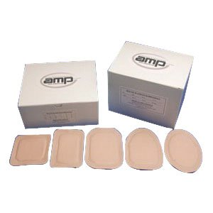 49G2 - Ampatch Style G-2 with 3/4 x 1 1/4 Oval Center Hole by Austin Medical Prod Inc