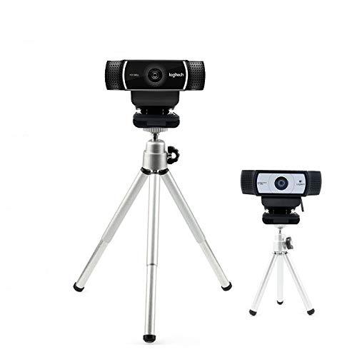 Extendable Camera Tripod Mount Holder Stand Cradle for Logitech Webcam C922 C930e C930 C920 C615-Silver Bulk4buy LYSB01HPW9XVC-ELECTRNCS