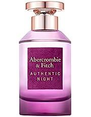 Abercrombie & Fitch, Abercrombie & Fitch Authentic Night Woman 100Ml Edp Spray, Perfumy Edp, Wielobarwny, 100, Kobieta
