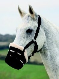 Grazing Pony - Shires Deluxe Grass Muzzle Small Pony