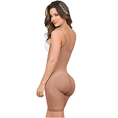 MARIAE 9182 Midthigh Braless Butt Lifter Shapewear | Faja Reductora Colombiana