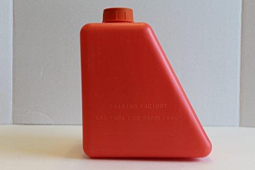 1 GALLON HDPE PLASTIC GAS CAN FOR HARLEY DAVIDSON TOURING SADDLEBAGS ()