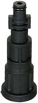 Pour buse de mousse en plastique Adaptateur de raccord pour nettoyeur haute pression Powertool noir