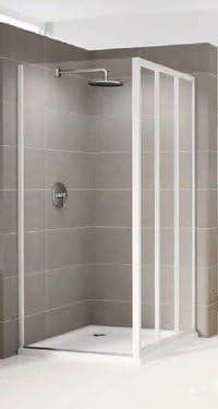Mampara de ducha fija Riviera F Reversible Cristal 3 mm profile ...