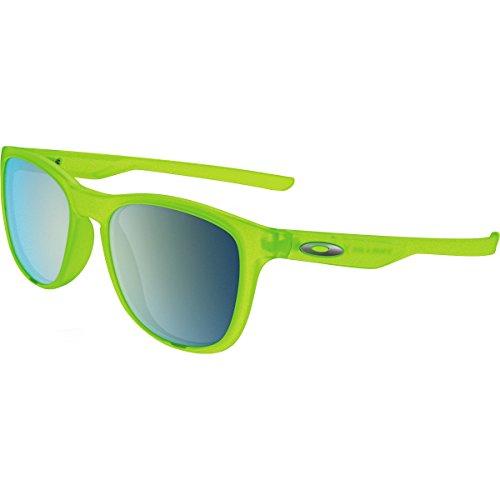 Oakley Men's Trillbe X Non-Polarized Iridium Rectangular Sunglasses, Matte Uranium, 52 mm - Oakley Green