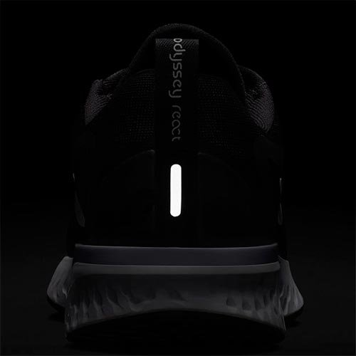 Nike Wmns Nike Odyssey React - black/white-wolf grey