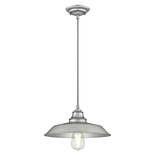 Galvanized Lighting Pendant
