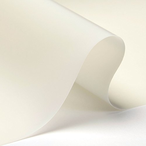 3x7 Ft Carl's White Rear Projection Film (Window Projection Material for Halloween Digital Decorations, Virtual Halloween) AtmosFX Compatible]()