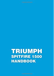 The complete official triumph spitfire 1500 1975 1976 1977 1978 triumph spitfire 1500 owners handbook supplement fandeluxe Gallery