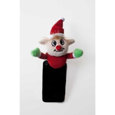 Shutter Huggers ELF003 Mini Shutter Hugger for Portable Video Devices, Elf (Red): Camera & Photo