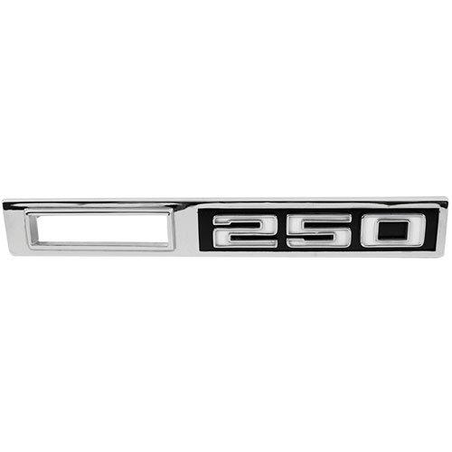 """Trim Parts 4605 1969 Chevelle Front Marker Light Bezel, """"250"""""""