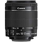 Canon Standard Zoom Lens EF-S18–55mm F4–5.6is STM APS-C Compatible