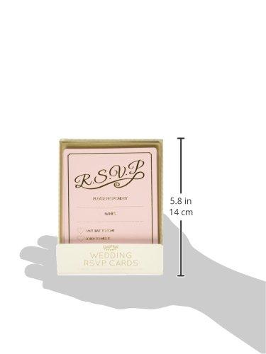Ginger-Ray-Pastel-Gold-Foiled-RSVP-Wedding-CardsInvitations-10-Pack-Pink