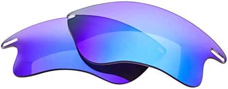 LenzFlip Oakley FAST JACKET XL Polarized Lens Replacement - Multiple Options