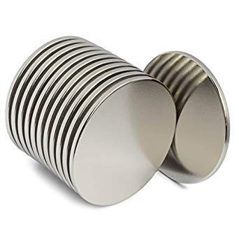 Imanes de neodimio imanes de disco imanes redondos fuertes imanes de disco para manualidades planas soporte de tienen un sinfín de usos permanente magnético discos: Amazon.es: Amazon.es