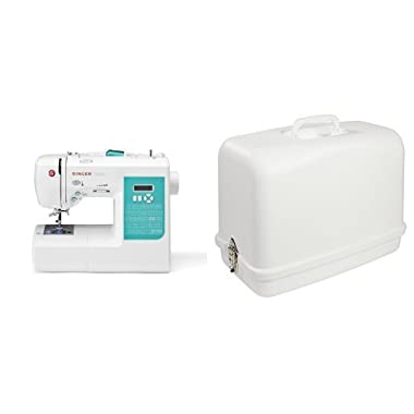 SINGER 7258 Stylist 100-Stitch Computerized Sewing Machine with 611.BR Universal Hard Carrying Case
