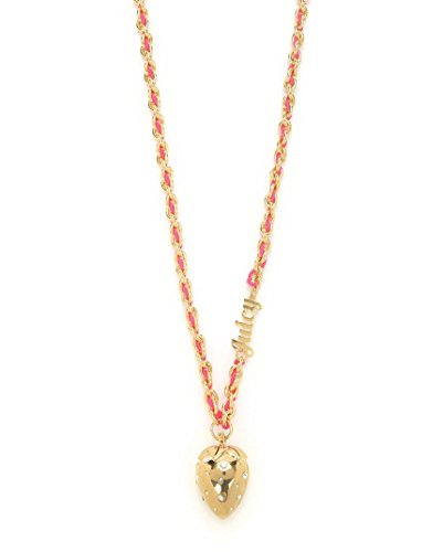 Juicy Couture Hinged Strawberry Pendant Necklace - Surpri...