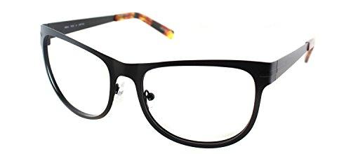 Cynthia RowleyNo. 80 Matte Black Square Metal - Eyewear Cynthia