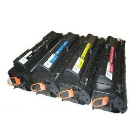 Compatible Black/Cyan/Yellow/Magenta HP Multi-pack Cartridges (9,000(black) / 6,000(color) Page Yield) for HP Color LaserJet 4500, HP Color LaserJet 4500dn, HP Color LaserJet 4500n, HP Color LaserJet 4550