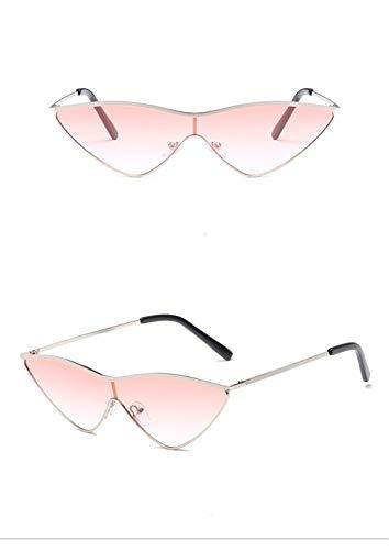 Gafas Rosa Hombre A Espejo Gafas Fliegend de Súper Gafas Eye Unisex de Lente Mujer UV400 Sol Polarizadas Ligero Sol Vintage Cat Retro para 61f4xBw1q