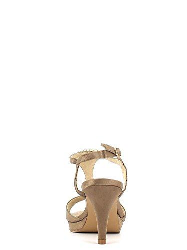 Cafenoir - Sandalias de vestir para mujer Taupe