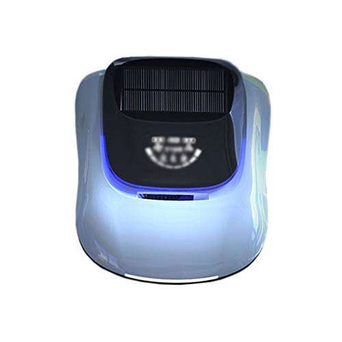 Wisdom Aromatherapy (ZHAO YING Car Air Purifier Intelligent Solar Energy Negative Ion in The Car Smog Aromatherapy in Addition to Formaldehyde Odor PM2.5 (Color : Blue))