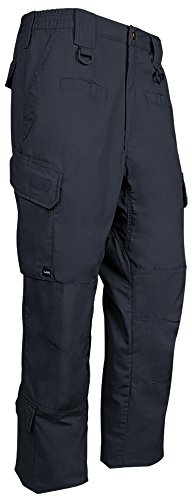 LA Police Gear Men's Water Resistant Operator Tactical Cargo Pants with Lower Leg Pockets - Navy - 34 x 34