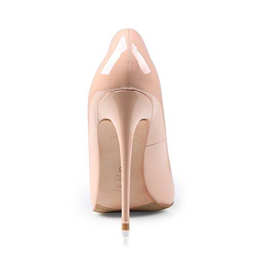 Donna Rosso Rosa Sposa Carol Tacco Centimetri Pompe Tacchi Alti Di 10 Da Scarpe Camere Delle Px1AxqvnEw