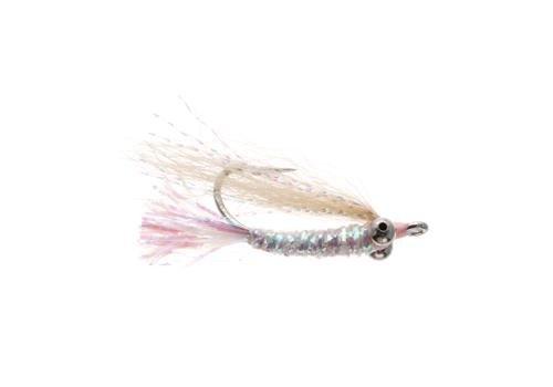 Umpqua Gotcha Bonefish Fly, Pearl 1/2 Dozen #6
