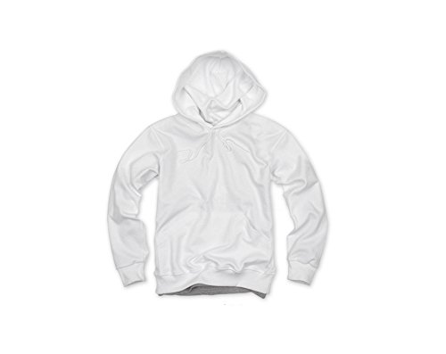 Bmeigo Unisex Plain Blank Colored Cotton Hooded Sweatshirts Pullover Hoodies