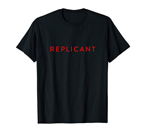 Replicant Identification T-shirt for Men, Women, S to 3XL