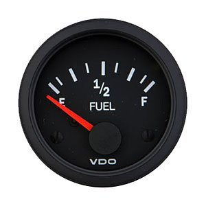 VDO 301105 Vision Style Fuel Level Gauge 2 1/18