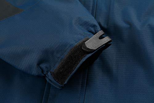 Cappuccio Con Tacvasen Cappotto Blu Leggero Da Navy Softshell Staccabile Impermeabile Uomo Giacca 6B8qUR